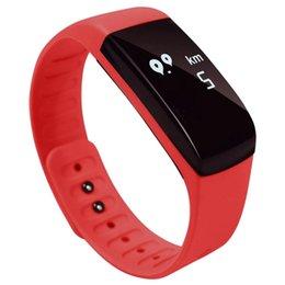 Умный здоровый браслет онлайн-Фитнес-трекер, Smart Bluetooth Wristband Здоровый браслет WristWatch Call SMS-напоминание для смартфонов IPhone6 / PLUS, SAMSUNG