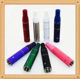 2020 cartuchos de fumar vaporizador 1Pcs Vaporizador de cartucho de cámara de hierba seca de humo Ago G5 Clearomizer para vaporizador E-Cigarrillo Vaporizador de hierba seca Estilo de pluma 9 colores cartuchos de fumar vaporizador baratos