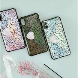 Teléfonos celulares con estilo online-BUENA Funda para teléfono celular con tarjeta de sellado Love con funda para tarjeta de bolsillo elegante y linda funda para iPhone totalmente protegida iPhone XS MAX XR X
