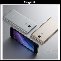 Goophone original online-Original Xiaomi Redmi 4 5 pulgadas 3G RAM 32G ROM Snapdragon 430 Octa Core 1280x720 4100mAh 13.0MP 4g Lte vs goophone nota 8 goophone i6