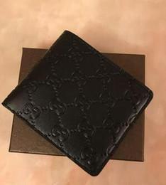 2018 New bag frete grátis carteira de alta qualidade padrão xadrez mulheres carteira homens puros high-end de luxo s designer L carteira com caixa 98568 de