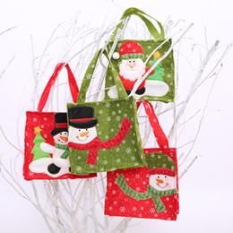 eTya 1 PC Shopping Bags per donna Borsa con manico per donna 2019 Nuove decorazioni per feste di Natale Bambini Bambini Borse per caramelle Porta regali cheap candy party holders da titolari di party di caramelle fornitori