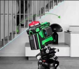 Canada 3D Selbstnivellierende Grün Laser Niveau 360 Grad 12 Zeilen Horizontale Vertikal Offre
