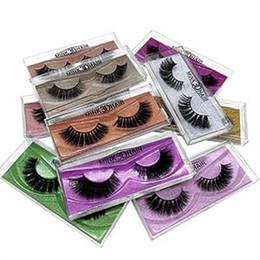 olhos azuis cílios falsos Desconto 3D Mink cílios dos olhos maquiagem Mink cílios falsos natural macio grossas pestanas falsificadas beleza Extensão Ferramentas 10styles