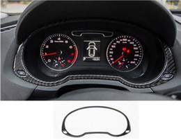 2019 rodas jeep cherokee styling do painel do carro Interior decalque tampas de fibra de carbono painel decorativo armação de cobertura guarnição para Audi Q3 2013-2017 auto acessórios