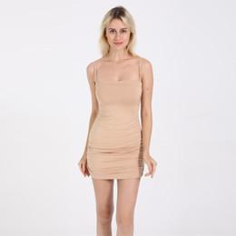 Nuevos vestidos de moda online-Ropa de mujer Nuevo estilo Temperamento de moda Párrafo visible Condole Takes Bag Buttock Designer Dress Vestidos de estilo superior