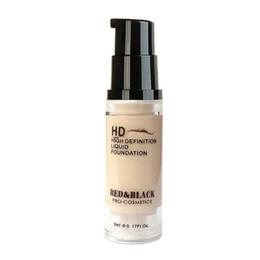 Redblack Muestra Hd Alta Definición Líquida Base de maquillaje Crema para la cara Base de maquillaje Cara Base Cuidado Crema Belleza Cosmética 5 ml desde fabricantes