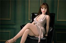 muñecas del sexo real japonesas calientes Rebajas Venta caliente de 140 cm de belleza japonesa real de silicona muñecas del sexo para hombres Culo Vagina oral anal TPE de goma mujer Shipping