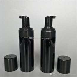 2019 masque pelable blanchissant 150g plastique Voyage Rechargeables Foamer Pompe Bouteille Body Wash mousse de savon noir pompes PET bricolage liquide vaisselle Savon 2019012207