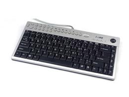 Multifunktions-maus online-Großhandel iOne Multimedia-Trackball-Tastatur Scorpius K3NT Industrielle Multimedia-Tastenkombinationen im schlanken Design Multifunktions-USB-Maustastatur