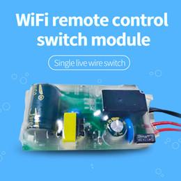2019 relè di controllo della tensione Voice Control intelligente Easy Install multifunzione relè Wifi Wireless Remote Control Security tensione Timing Home Switch Module relè di controllo della tensione economici