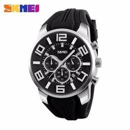 Empresas de plásticos online-Skmei 9128 Nuevo modelo Guangzhou Fashion Watches Company Correa plástica colorida con caja de embalaje