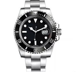 Oro 2813 Top de cerámica Bisel Hombre Mecánico de acero inoxidable Movimiento automático Reloj Deportes Reloj automático Relojes de pulsera desde fabricantes