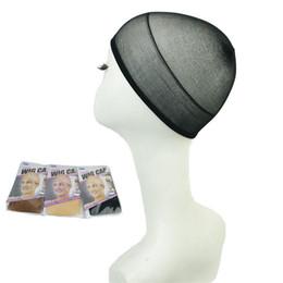 2019 accessori all'ingrosso pettine dei capelli di plastica Parrucche per capelli 8Pcs / combo Weaving Cap Cap Hair Net Making Caps