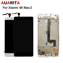 жк-дисплеи для сотовых телефонов Скидка 1pcs/lot lcd For XiaoMi MI MAX 2 LCD Display+Touch panel Screen Digitizer with frame Assembly For XiaoMi MAX2 Cell Phone