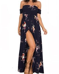 Только женские платья онлайн-Женское сексуальное летнее платье OSNIC без бретелек с длинными рукавами и пляжным платьем с цветочным принтом, продается только DIOSA