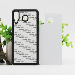 samsung core prime j7 Rebajas Cubierta de la caja del teléfono TPU + PC de goma en blanco para la sublimación 2D en blanco para Samsung Galaxy A9 Estrella J2 J3 J3 J4 J7 Prime 2018 A5 A6 Plus