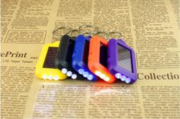 2019 kleinste sonnenlicht Schlüsselanhänger taschenlampen mini led kleine nicht-solar schlüsselbund taschenlampe kleine tragbare licht verkaufen täglich tragen 19g 2 1hs rabatt kleinste sonnenlicht