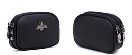 borsa della moneta di londra Sconti Portamonete 5 colori moda donna borse mini semplici portafogli carino per le donne ragazze 11,5 * 7,5 * 4 centimetri doppia cerniera