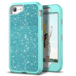 green body glitter Coupons - For Iphone 7 plus Case Luxury Women Bling Glitter Cover Heavy Duty Hybrid Full-Body Protective Cover Defender Case For iPhone 7 7plus
