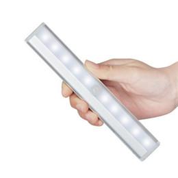 Ламповый шкаф онлайн-Led Настенный Светильник Серебристого Розового Золота Автоматическая Высокая Эффективность Энергосбережения Свет Контролируемый Индукционный Шкаф Лампы Горячей Продажи 19fyE1