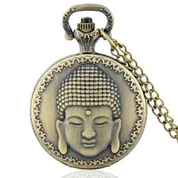Thème du Bouddhisme Plein Chasseur Quartz Gravé Fob Rétro Pendentif Montre De Poche Chaîne Cadeau Fire Fighter Thème ? partir de fabricateur