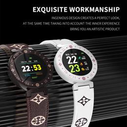 Podómetro corazón bluetooth online-Reloj inteligente Bluetooth Pulsera de frecuencia cardíaca Rastreador de ejercicios Podómetro Fit