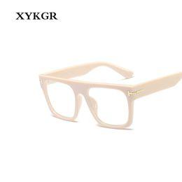 lunettes lindberg Promotion XYKGR nouvelle optique femmes lunettes d'ordinateur cadre grand cadre lunettes de léopard boîte noire carrée hommes et femmes
