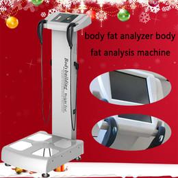 stampanti di prova Sconti Rilevazione dell'altezza e peso della bilancia Body Analyzer popolare con stampante a infrarossi stampante A4 per salone e palestra