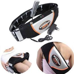 Cintos vibratórios on-line-Sauna Aquecimento Cinto de Vibração. Slimming Massager Cintos. Massagem Flex Chinelo Vibro Forma Magro Queima De Gordura Perda De Peso Da Cintura Cinto