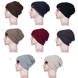 ladies running cap Coupons - New Fashion Women Ladies Unisex Winter Knit Winter Hat Beanie Reversible Skull Chunky Baggy Warm Cap