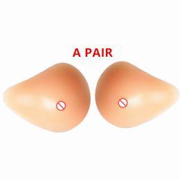 Forme mammarie artificiali in silicone per tette finte Protesi realistica per chirurgia del cancro al seno Petto femminile per mastectomia Migliora cheap silicone breast forms mastectomy da il seno al silicone forma la mastectomia fornitori