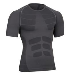 Deutschland Herren-Plastikkleidung Kurzärmliges T-Shirt Leichter Druck Komfortable Belüftung Schnell trocknend Enge Sport-Kurzärmel Versorgung