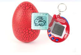 2019 batteriebetriebene dinosaurierspielzeug Elektronisches Haustier-Ei-virtuelles pflegendes Spiel Weinlese-virtuelles Haustier-Cyberspielzeug Tamagotchi Digital-Haustier für Kind scherzt Spiel