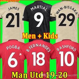 jersey de deutschland Rebajas Camiseta de fútbol Tailandia FC Manchester United soccer jersey football shirt 2019 2020 POGBA LINGARD LUKAKU RASHFORD chandal de fútbol MARCIAL UtD 18 19 20 camisetas de MAN