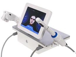 Modello vaginale online-Nuovo Modello 2in1 Portable 7 cartucce High Intensity Focused Ultrasound HIFU Viso Corpo Vaginale Stringere pelle della macchina di sollevamento rimozione della grinza