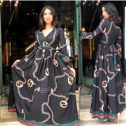 Ropa de spandex online-Vestidos africanos para las mujeres Ropa africana Vestido africano Imprimir gasa Dashiki Ropa de mujer Ankara Tallas grandes Vestido de mujer África