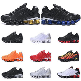 fishing shoes for men Coupons - News Running Shoes for mens 3M reflective TL SUNRISE University Red Clay Orange Lime Blast triple black Athletic Sports Sneakers size 40-46