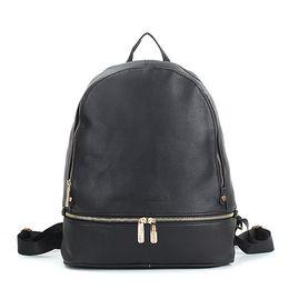 Deutschland schwarz brand design kleinere rucksäcke schultaschen für frauen lady girls designer pu cheap black designer backpack Versorgung