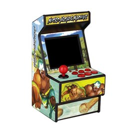 Yetişkin Çocuklar için Taşınabilir Retro El Oyun Konsolu 16-Bit Mini Klasik Arcade Oyunları Oyuncu Makinası nereden lcd pmp tedarikçiler