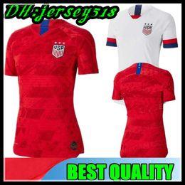 1eaf87de4f maglie femminili Sconti 2019 Coppa del Mondo America girl Maglia da calcio  Stati Uniti Camicia USA