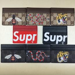 carteras de material Rebajas Venta al por mayor y al por menor de la marca de diseñador europeo billetera de moda para hombre mini billetera material de PU monedero paquete de tarjeta de múltiples tarjetas 001