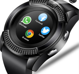 Argentina Hombres Mujeres Reloj inteligente Reloj de pulsera Soporte con cámara Bluetooth SIM TF Tarjeta Smartwatch para teléfono Android Reloj de pareja Suministro