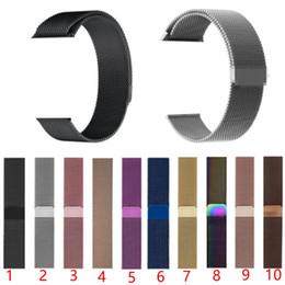 Нержавеющая сталь Металлическая петля Смарт ремешок для часов ремешок для Apple Watch 44 мм / 42 мм / 40 мм / 38 мм серии iwatch 4 3 2 Магнитный браслет от