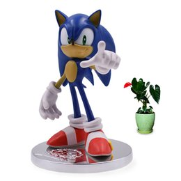 sonic games Coupons - Anime Game Sonic 20th Anniversary PVC Action Figure Collection Model Doll Toy Christmas Gift for Children 18 Cm
