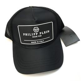 Bonés para o verão on-line-2018 ICON cap Hip Hop verão marca boné de beisebol chapéu letra caps snapback malha marca crânio caps