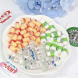 Argentina Mini botellas de bebida de simulación Modelos de escena de bebida de alimentos DIY Accesorios de limo Suministros de limo de bricolaje para decoración de casa de muñecas Barbie Suministro