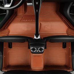 Volkswagen sagitar on-line-Custom fit esteiras do assoalho do carro para Volkswagen LOGOBeetle CC Eos Golf Jetta Passat Tiguan Touareg sharan Doces Sagitar Magotan tapete