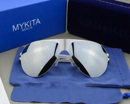 gafas mykita Rebajas Envío gratis gafas de sol alemanas Mykita Gafas gafas de sol conductor súper ligero Sunglass para hombres y mujeres