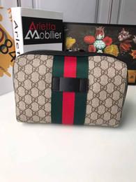 Gli uomini compongono online-alta qualità 2020 nuovo raccoglitore della moneta plaid portafoglio di fascia alta designer di portafoglio consegna gratuita 25cm16cm make-up delle donne borsa delle donne del modello maschile